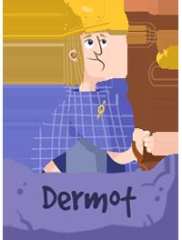 DERMOT from Ballybeg in Garth and Bev