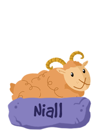 NIALL the Sheep! from Garth and Bev