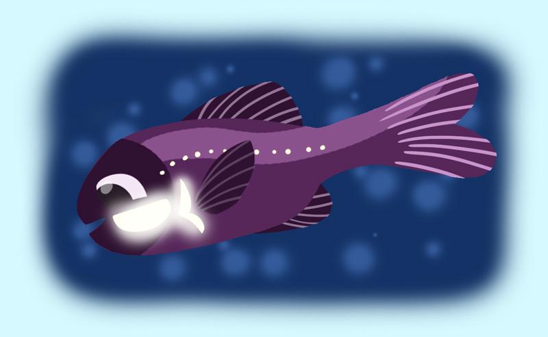 Flashlight fish garth bev for Nemo light fish