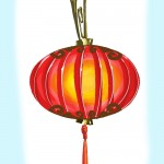 chinese lighting of lanterns